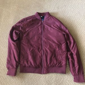 RSQ Collective maroon jacket